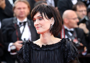 Clotilde Hesme sported a choppy bob at the Cannes Film Festival 70th anniversary event.