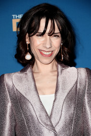 Sally Hawkins sported bouncy curls and wispy bangs at the 2018 Directors Guild of America Awards.