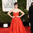 Zooey Deschanel, 2013 Golden Globes