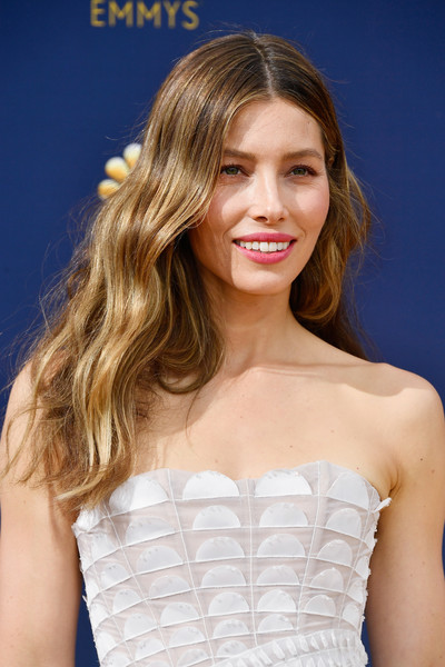 More Pics of Jessica Biel Strapless Dress (5 of 15) - Jessica Biel Lookbook - StyleBistro