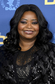 Octavia Spencer got glam with this curly hairstyle for the 2019 Directors Guild of America Awards.