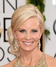 Monica Potter made us swoon with this side-swept curly updo she wore to the Golden Globes.