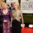Emma Thompson at the Golden Globes 2014