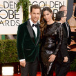 Matthew McConaughey and Camila Alves at the 2014 Golden Globe Awards