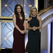 Sprinkled with Sparkles at the 71st Annual Golden Globes