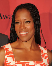 Regina King wore her hair in tiny braids at the George Foster Peabody Awards.