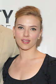 Scarlett Johnasson showed off her soft updo while attending a luncheon in New York City.