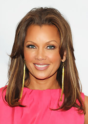 Vanessa Williams hit the red carpet a New York Luncheon where she showed off her shoulder length locks.