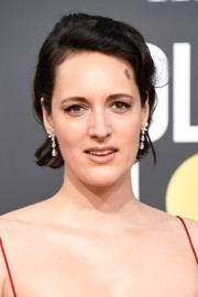 Phoebe Waller-Bridge opted for a simple short side-parted 'do when she attended the 2019 Golden Globes.