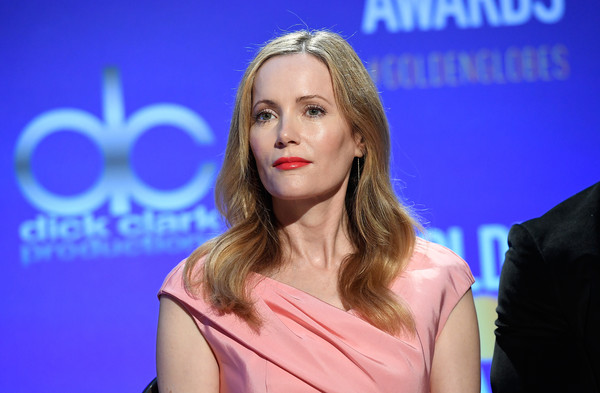 Leslie Mann looked lovely with her gently wavy 'do at the Golden Globe nominations announcement.
