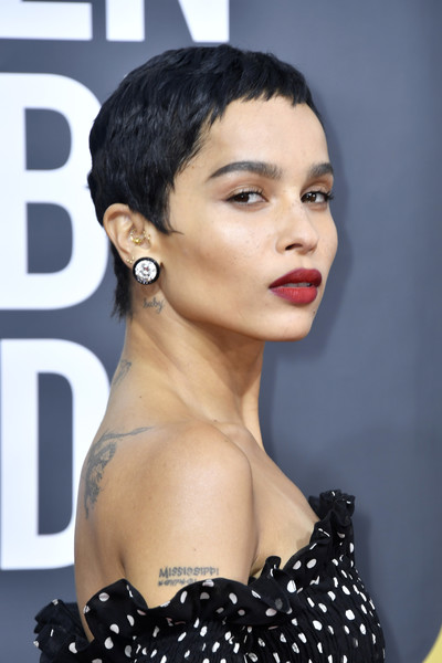 More Pics Of Zoe Kravitz Pixie 2 Of 13 Short Hairstyles Lookbook Stylebistro