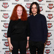 Grace Coddington and Olivier Theyskens
