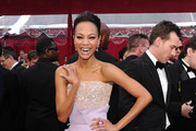Actress Zoe Saldana arrives at the 82nd Annual Academy Awards held at Kodak Theatre on March 7, 2010 in Hollywood, California.