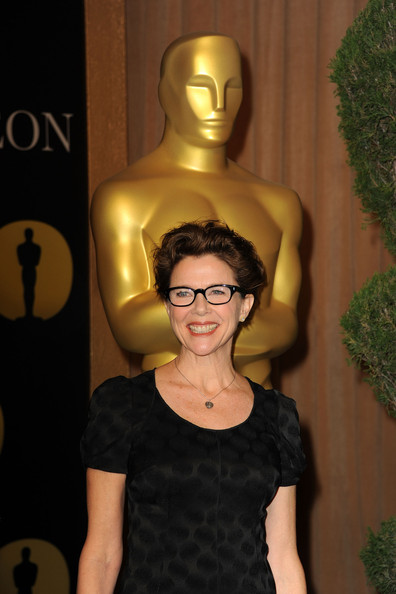 More Pics of Annette Bening Little Black Dress (1 of 14) - Annette Bening Lookbook - StyleBistro