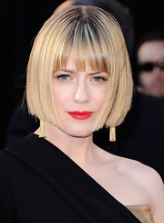 Sunrise showed off a gorgeous sleek bob at the Academy Awards.