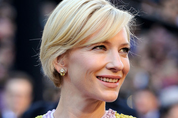 Cate Blanchett Tops off Her Givenchy with a Sideswept Bob at the Oscars