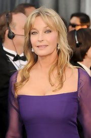 Bo Derek attended the Academy Awards wearing her hair in subtle waves.