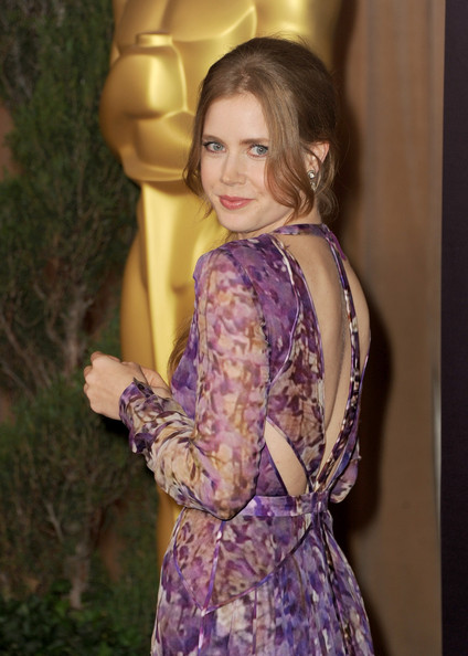 More Pics of Amy Adams Print Dress (5 of 13) - Print Dress Lookbook - StyleBistro