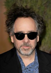 Quirky director Tim Burton wore classic Wayfarer sunglasses on the red carpet. Cool, right?