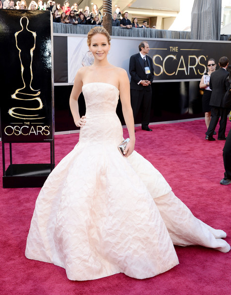 Jennifer Lawrence Wore Dior Haute Couture at the 2013 Oscars