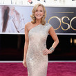Lara Spencer Wore KaufmanFranco at the 2013 Oscars