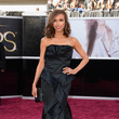Giuliana Rancic Wore Rafael Cennamo at the 2013 Oscars