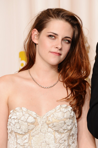 More Pics of Kristen Stewart Long Wavy Cut (1 of 23) - Kristen Stewart Lookbook - StyleBistro