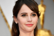Felicity Jones Half Up Half Down