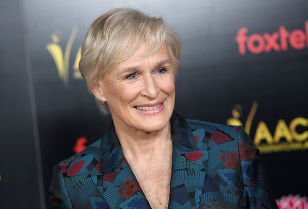 More Pics of Glenn Close Pixie (1 of 7) - Glenn Close Lookbook - StyleBistro [hair,face,blond,hairstyle,smile,premiere,fun,photography,tooth,arrivals,glenn close,aacta international awards,los angeles,california]