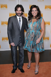 Rachael Ray is flirty in a swingy printed dress at the Can-do awards dinner.