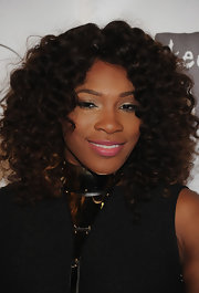 Serena Williams wore a pretty bubblegum pink lipstick at the 8th Annual Keep a Child Alive Black Ball.