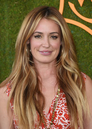 Cat Deeley flaunted a perfect layered cut at the Veuve Clicquot Polo Classic.