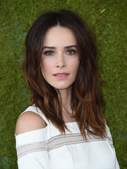 Abigail Spencer worked a messy-sexy hairstyle at the Veuve Clicquot Polo Classic.