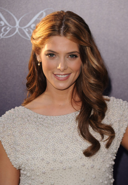 More Pics of Ashley Greene Half Up Half Down (1 of 6) - Updos Lookbook - StyleBistro [hair,hairstyle,face,eyebrow,blond,brown hair,long hair,shoulder,beauty,lip,arrivals,ashley greene,los angeles,california,chrysalis butterfly ball]