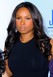 Jennifer Hudson showed off her glossy nude lips at the 9th Annual GEM Awards.
