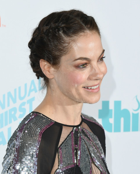 More Pics of Michelle Monaghan Cutout Dress (2 of 18) - Dresses & Skirts Lookbook - StyleBistro [hair,hairstyle,chin,black hair,long hair,premiere,brown hair,smile,pixie cut,croydon facelift,arrivals,michelle monaghan,the beverly hilton hotel,beverly hills,california,thirst gala]