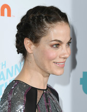 Michelle Monaghan looked romantic wearing this French braid at the 2018 Thirst Gala.