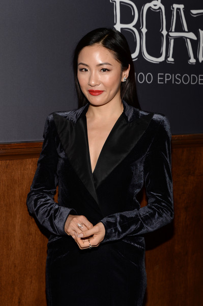 More Pics of Constance Wu Pumps (5 of 18) - Constance Wu Lookbook - StyleBistro [episode,episode,beauty,hairstyle,fashion,forehead,black hair,outerwear,suit,photography,leather,formal wear,constance wu,fresh off the boat,california,los angeles,abc celebrates,abc,fox studios,celebration]