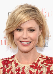 Julie Bowen showed her edgier side with this messy bob at the 'Modern Family' ATAS Emmy event.