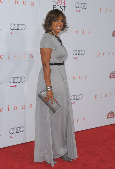More Pics of Gayle King Layered Razor Cut (1 of 5) - Gayle King Lookbook - StyleBistro []
