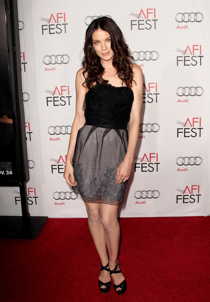 More Pics of Michelle Monaghan Platform Sandals (1 of 3) - Michelle Monaghan Lookbook - StyleBistro [love other drugs,michelle monaghan,arrivals,grauman,chinese theatre,california,hollywood,audi,afi fest 2010,opening night gala]