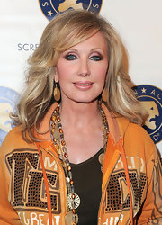 Morgan Fairchild wore a sporty outfit to the AFI Fest, but her wavy blonde hair was glam as usual.