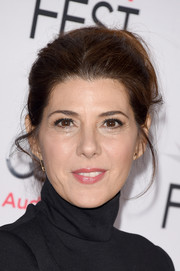 Marisa Tomei pulled her hair back into a casual loose bun for the premiere of 'The Big Short.'