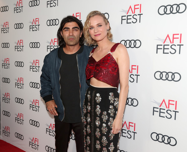 More Pics of Diane Kruger Strappy Sandals (1 of 11) - Diane Kruger Lookbook - StyleBistro [guess whos coming to dinner cinema,premiere,event,dress,carpet,red carpet,flooring,fashion design,style,jordan peele,fatih akin,diane kruger,legacy,tcl chinese theatre,california,audi,afi fest,l]