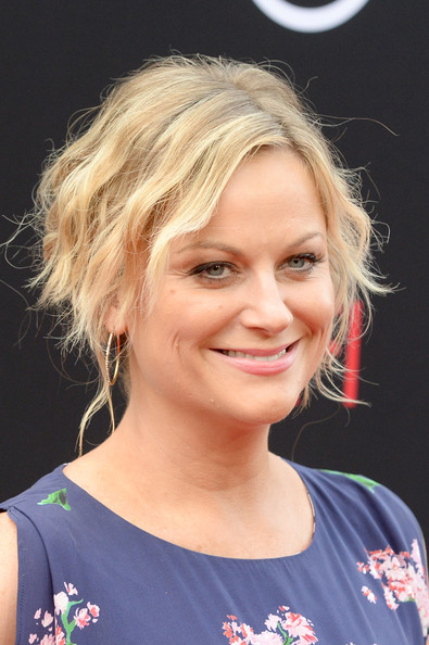 More Pics of Amy Poehler Bobby Pinned Updo (2 of 15) - Amy Poehler Lookbook - StyleBistro