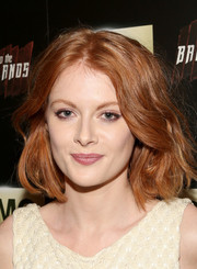 Emily Beecham wore a cute wavy bob to the premiere of 'Into the Badlands.'