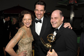 Elisabeth Moss Matthew Weiner AMC Emmy After Party 2011