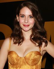 Alison Brie left her wavy locks loose when she attended the AMC Emmy Awards after-party.