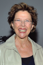 Annette Bening rocked a windblown 'do at the 'Perfect Choice: The Art of the Casting Director' event.