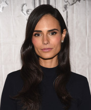 Jordana Brewster attended the AOL BUILD Speaker Series wearing her hair in perfectly sculpted waves.